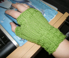 Fingerlose Handschuhe (*Coala*) Tags: knitty fetching handschuhe fingerlose