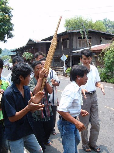 Isaan Villagers Having Fun