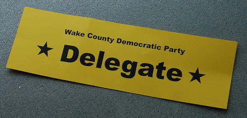 Wake County Democratic Party Delegate
