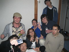 The Welcome party after party (jrkester) Tags: japan hirosaki 2008