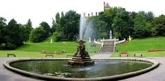 Fountain (George D Thompson) Tags: uk england lancashire preston millerpark stitchingsoftware montijoverdeeamarelo scenicsnotjustlandscapes