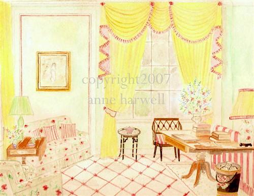 English Salon by anne harwell.