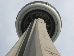 The CN Tower Close Up