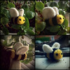 The Best Of The Bunch Of The Bees (Midnight Hoots) Tags: needle felted needlefelted felt animals wildlife nature cute soft wool handmade craft crafts crafted handcrafted art 3d