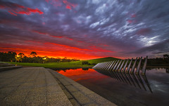 Northern Water Feature (gerryligon) Tags: northernwaterfeature sydneyolympicpark