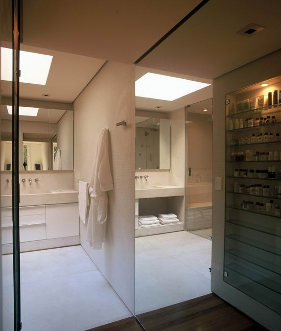 House Iporanga Bathroom Design Modern