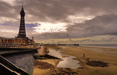 Blackpool (Mark-F) Tags: sky beach clouds stormy lancashire blackpool hdr markf blackpooltower markfreeman sonyalpha300