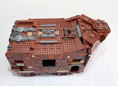 Finished-10144 UCS Lego Sandcrawler (starstreak007) Tags: lego ucs sandcrawler 10144