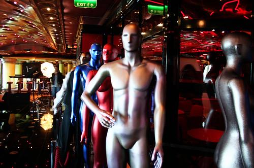 Red Carpet Mannequins (Carnival Splendor)