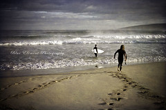 Without Hesitation (~* Rae Rae *~) Tags: beach surf surfer footprints matty sw smiths yallingup swa lurie southwestaustralia