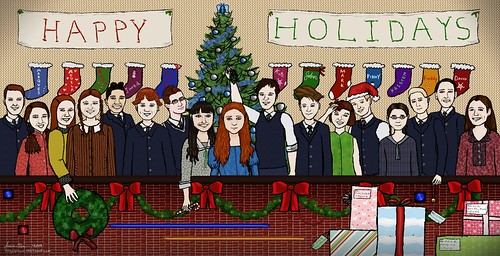 "Fan Art ""Happy Holidays"""