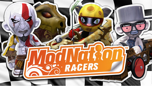 ModNation Racers - God of War pack