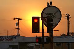 Smokey San Diego Sunset PICT7996a.jpg (Erik.Nielsen.Photos) Tags: sunset haze sandiego smoke redlight hillcrest wildfires californiawildfires