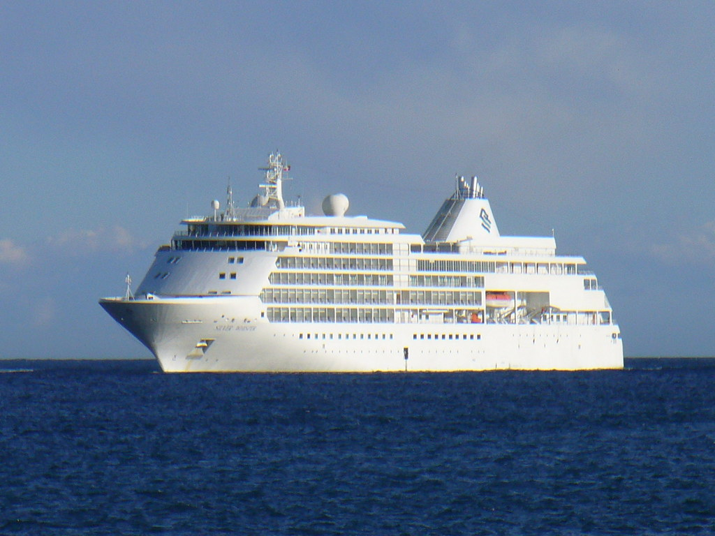 Silver Whisper at Villefranche