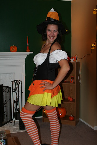Heather the Candy Corn