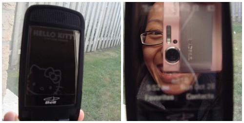 Hello Kitty Reflective Screen Protector