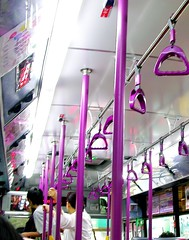 Purple BUS。紫色公車