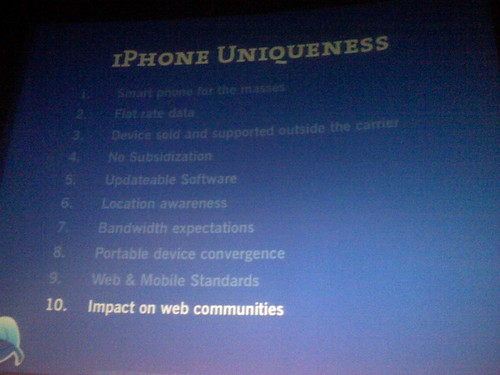iPhone Uniqueness