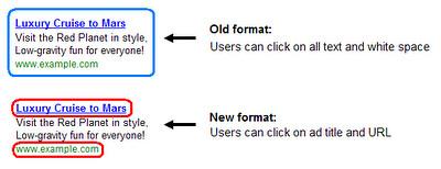 Clickthrough on Google AdSense