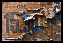 Troppo tardi (Stefano Pizzetti) Tags: italy rome roma wall paper poster italia time propaganda details best bestshots urbanfragments yourvisions sonoidettaglichecontano altraroma stefanopizzetti