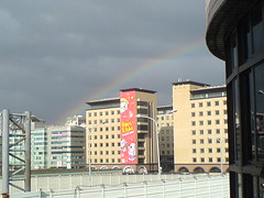 OPEN小將頭上的彩虹