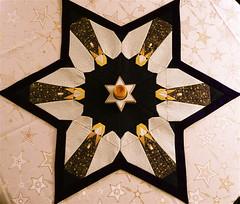 Patchwork - Stern (Zwergenmutti) Tags: weihnachten engel patchwork stern hof oberfranken stoff