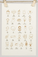 The Small Object ABC Stamp Chart (rachel best) Tags: large medium rachelbestblogs giftguide kidgifts giftunder25