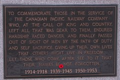 Photo 23: CPR Winged Angel Monument 1 (plaque)