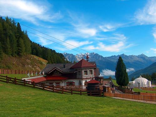 foto montagna Speikboden Valle Aurina Alto Adige d'estate