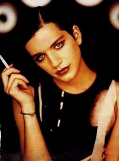 Brian Molko is freaking hot