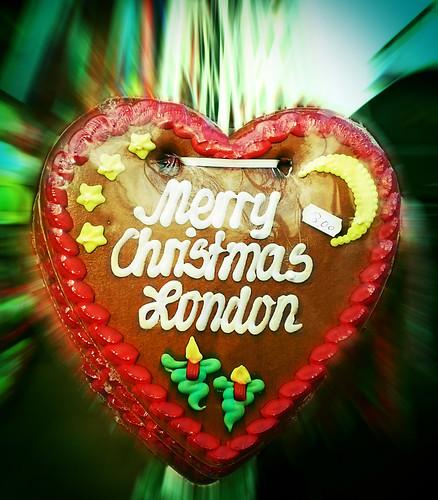 merry christmas london