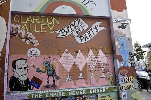 Clarion Alley Message Board