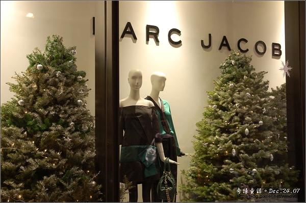DSC_4667櫥窗聖誕樹