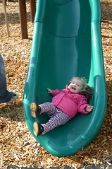 Anna at the Playground