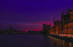 Introduction to perception of God (MOHSEN MaSoUmI) Tags: city uk light sunset sky reflection london river bigben       mohsenmasoumi