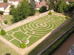 France, Chartres, Labyrinth