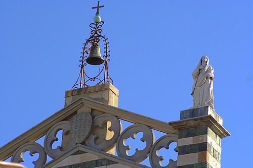 Statua - Madonna - Facciata - Duomo - Prato