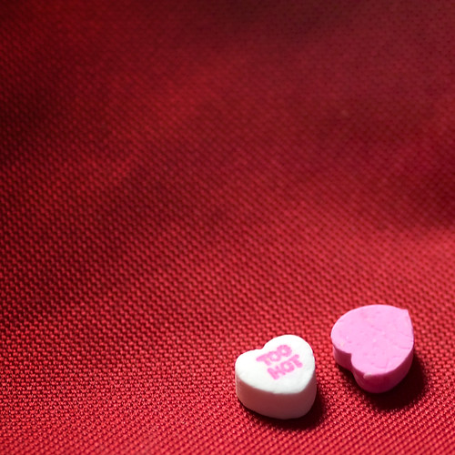 too hot candy hearts