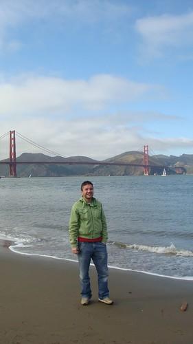 Ai piedi del Golden Gate