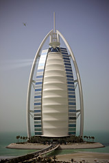 Burj Al Arab (h.andras_xms) Tags: sea sky sun building canon landscape hotel dubai uae emirates 1ds markiii  handras burjalarabjumeirah wwwxmshu httpxmshu lifetravel