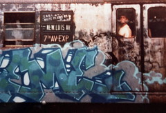 skeme half (Zomboider) Tags: new york old school subway graffiti panel 80s tnt skeme