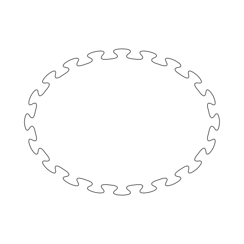 spline_on_ellipse