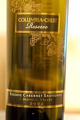 2003 Columbia Crest Reserve Cabernet Sauvignon
