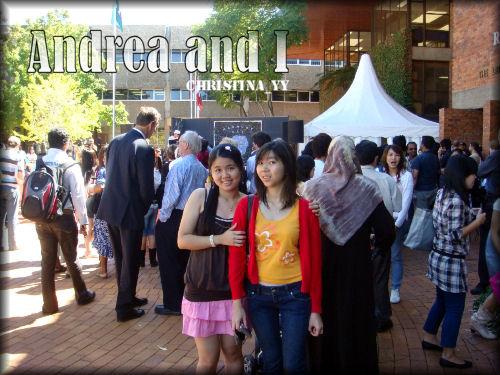 Andrea & I