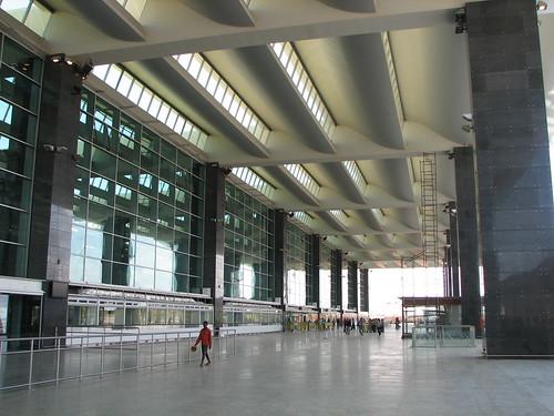 Corridor outside terminal