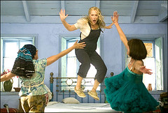 Mamma Mia movie meryl streep jumping by nicolomanaloto_911