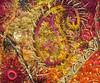 Detail Paisley & Shisha 4 (Karen Cattoire) Tags: original abstract art shisha handmade embroidery originalart creation fabric fiberart paisley beading textileart bjp tissu abstrait textiledart karencattoire fibretextile arttexilte