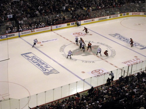 Game 5 Opening Faceoff
