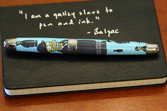 moleskine pen writing acme homer