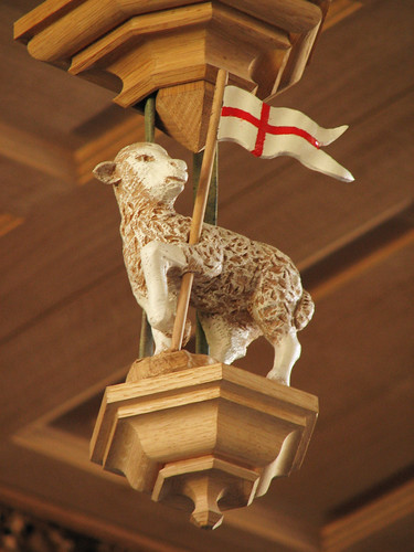Lamb & Flag detail